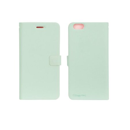 HAPPYMORI Daily Dream Faux Leather Case for Apple iPhone 6 Plus, Mint ()