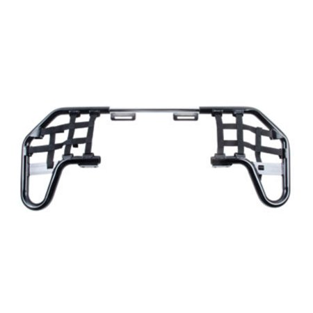 Comp Series Nerf Bars Silver With Black Webbing for Yamaha YFZ 450 2012-2013 ()