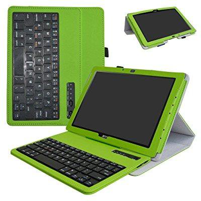 acer iconia one 10 b3 a40 bluetooth keyboard case mama mouth slim stand pu leather cover with. Black Bedroom Furniture Sets. Home Design Ideas