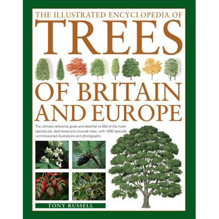 The Illustrated Encyclopedia of Trees of Britain and Europe : The Ultimate Reference Guide and Identifier to 550 of the Most Spectacular, Best-Loved and Unusual Trees, with 1600 Specially Commissioned Illustrations and