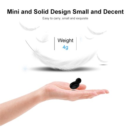 Stereo Wireless Bluetooth Earbud. Sweatproof Headset . Built-in Mic for Android and iPhone Smart Phones.(with Charging Case) - image 9 of 17