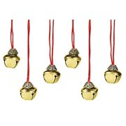 Holiday Jingle Bell Necklace Lot of 6