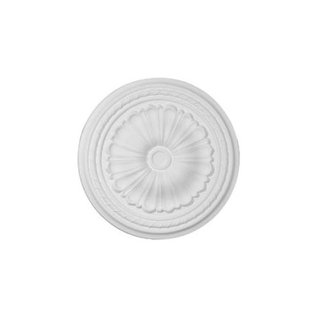 Ekena Millwork 20 1/2u0022OD x 1 7/8u0022P Alexa Ceiling Medallion (Fits Canopies up to 2 7/8u0022)