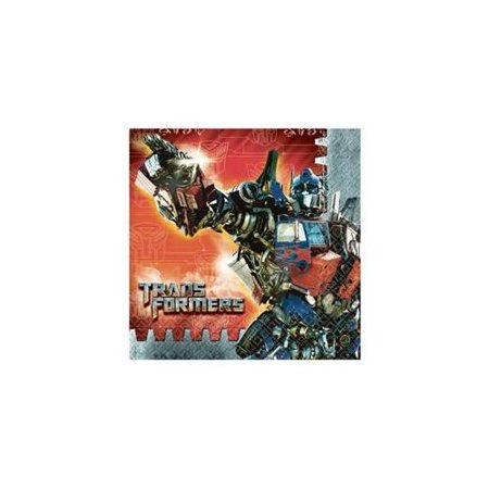 Transformers 'Dark of the Moon' Lunch Napkins - Moon Lunch