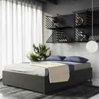 DHP Maven Platform Bed with Under Storage, Multiple Colors and Sizes