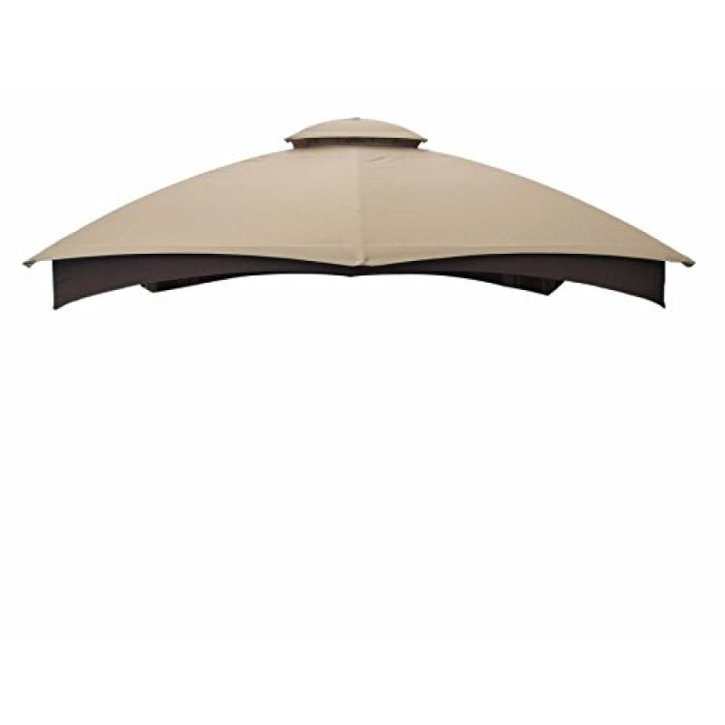 allen + roth Gazebo Beige Replacement Canopy Top Model # ...