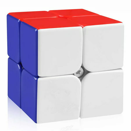 2x2 Speed Cube Stickerless 2 by 2 Magic Cube Puzzles