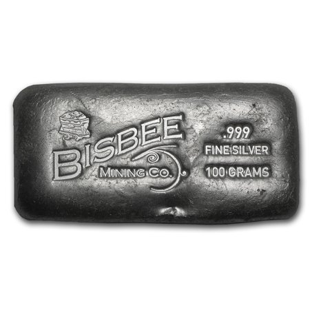 Not Specified 100 Gram Silver Bar Bisbee Walmart Com