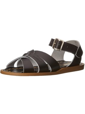 0e533cb3fa03e5 Product Image Salt Water Sandals by Hoy Shoe Original Sandal - Black - Little  Kid 12 - 886