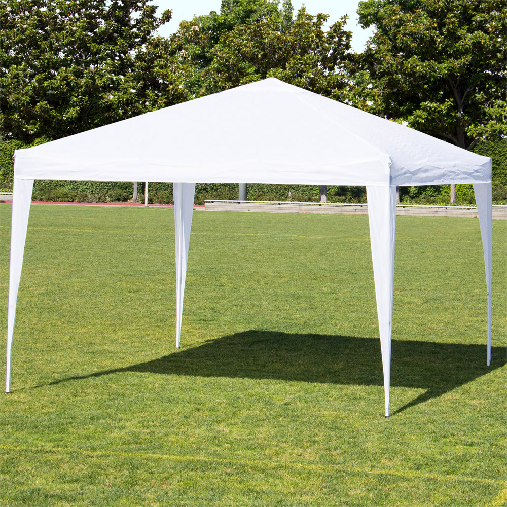 Ktaxon 10u0027 x 10u0027 Party Tent Wedding Canopy Gazebo Wedding Tent Pavilion No Side & 10 X 10 Tents