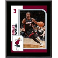 """Dwyane Wade Miami Heat 10.5"""" x 13"""" Sublimated Player Plaque"""