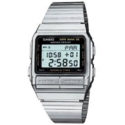 MENS DIGITAL DATA BANK 50 MEMORY STAINLESS STEEL WATCH DB-520A-1A Discontinued Model