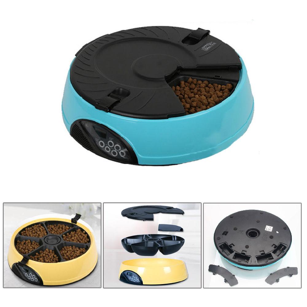 Ktaxon Automatic Pet Feeder Auto Dog Cat Food Bowl