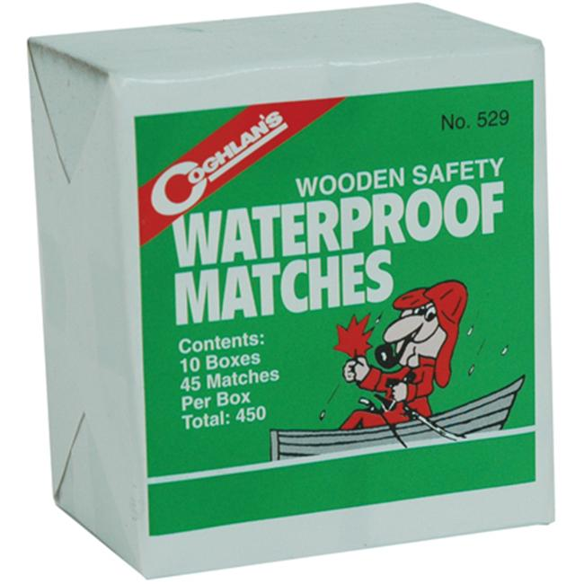 Coghlans 159026 Waterproof Matches 10 Boxes