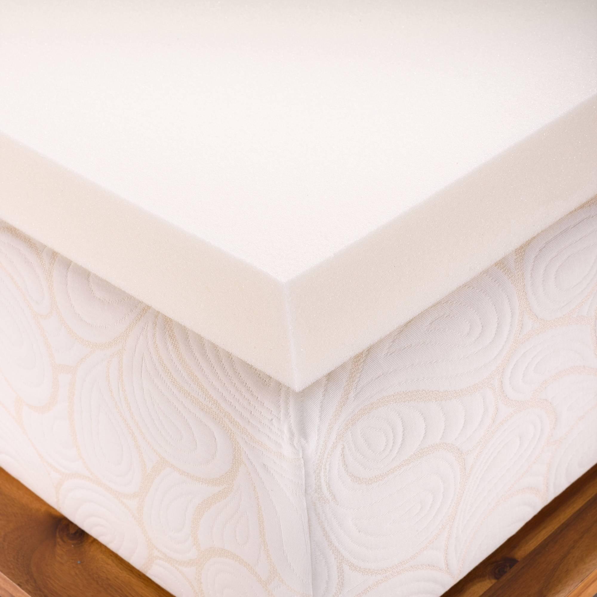 Authentic fort Memory Foam Mattress Topper Biofresh