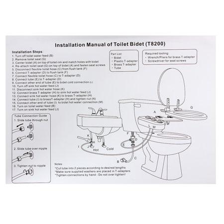 Swell Nozzle Hot Cold Water Spray Non Electric Bidet Toilet Bathroom Toilet Seat Attachment Inzonedesignstudio Interior Chair Design Inzonedesignstudiocom