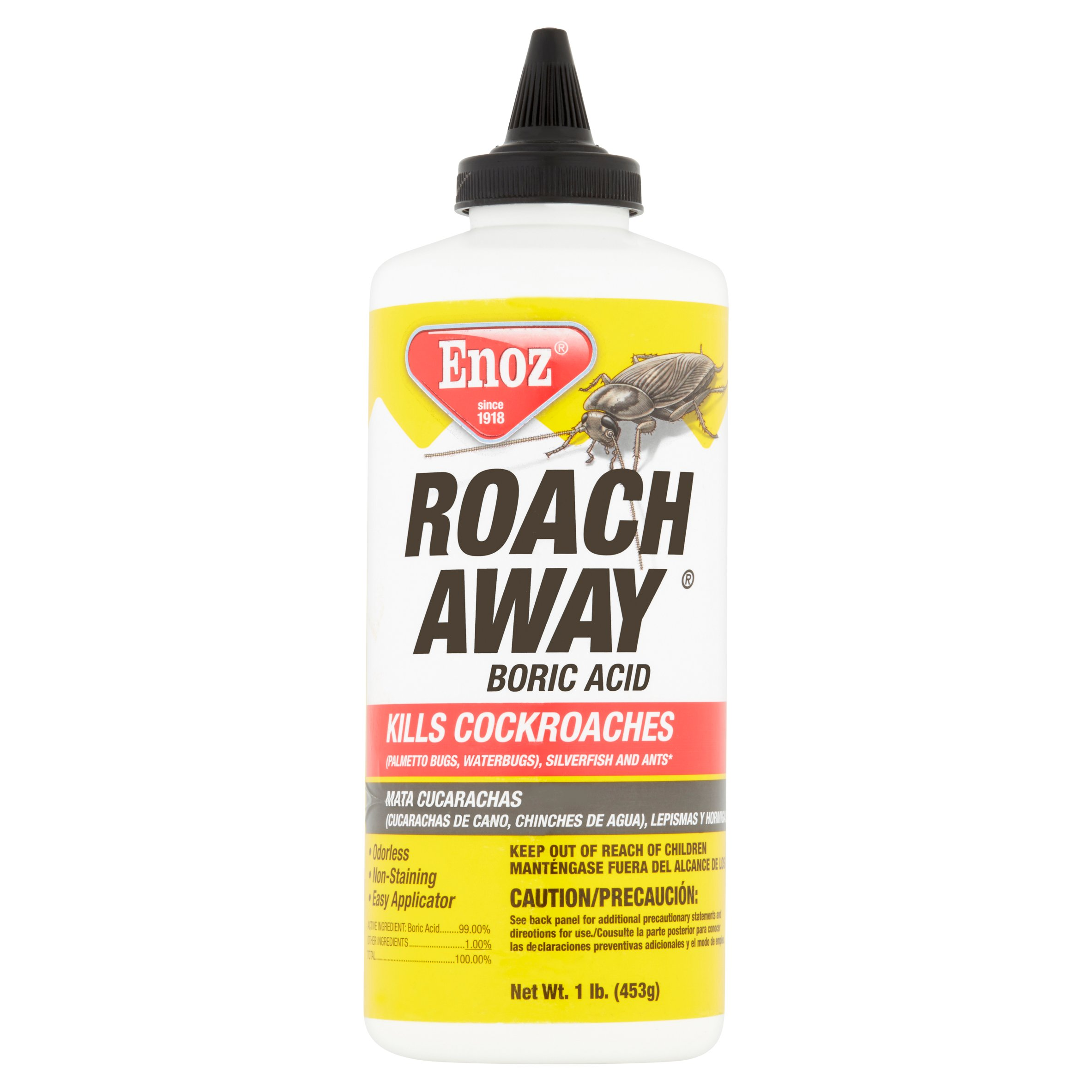 Enoz Roach Away Boric Acid, 1 lb
