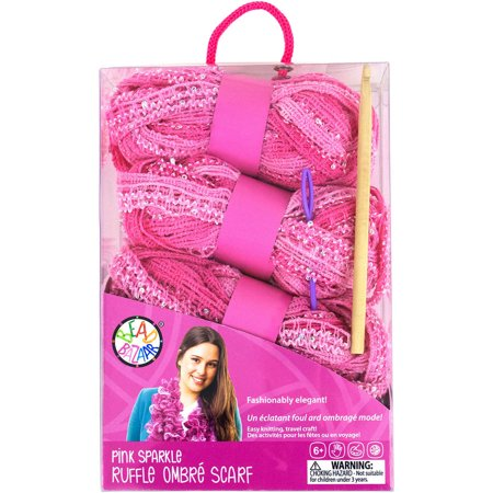 Sparkle Ruffle Scarf Kit