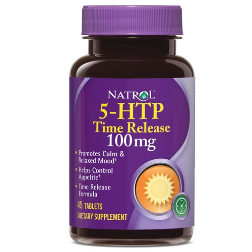 Natrol 5-HTP Time Release 100mg Tablets, 45 Ct