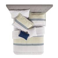Mainstays Nissi Boho Duvet Cover Set with 2 Decorative Pillows, Multiple Sizes