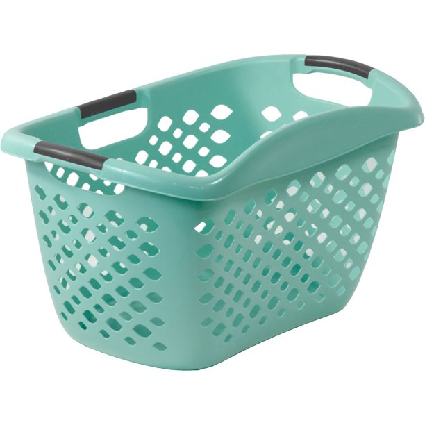Home Logic Hip Grip Laundry Basket 1.8 Bushel, Multiple Colors