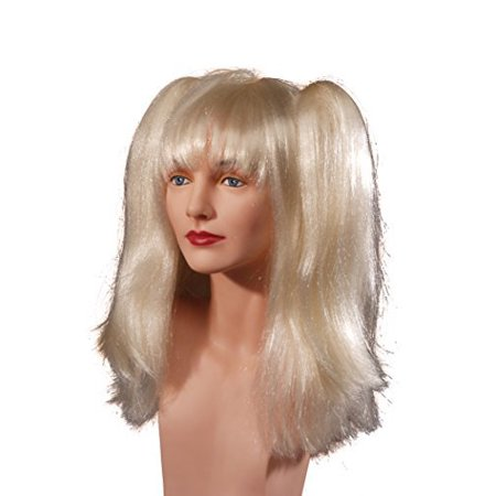 Star Power Baby Doll Pigtails Dancer Wig Blonde One Size