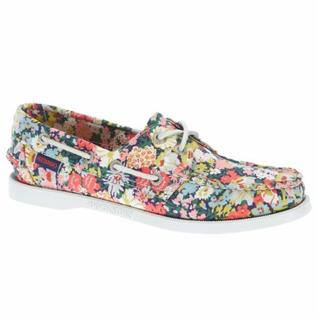 Docksides Saddle (Women's Docksides Boat Shoes Thorpe Print 8.5 M )