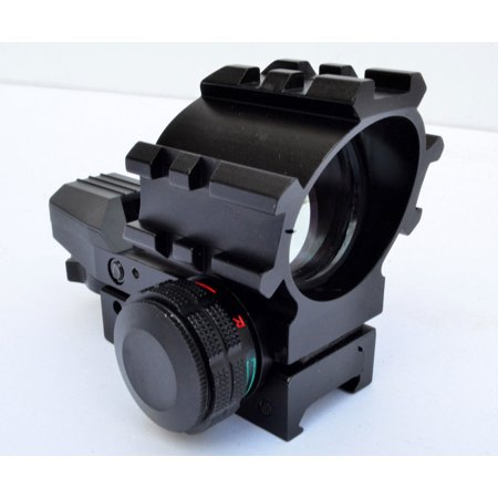 - Red / Green Dot Holographic Reflex Sight Multi Reticles Gun Sight with Rails