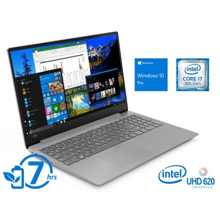 "Lenovo IdeaPad 330S Notebook, 15.6"" FHD Display, Intel Core i7-8550U Upto 4.0GHz, 12GB RAM, 256GB SSD, HDMI, Wi-Fi, Bluetooth, Windows 10 Pro"