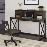 Xcel Office Desk with Hutch & Swivel Chair