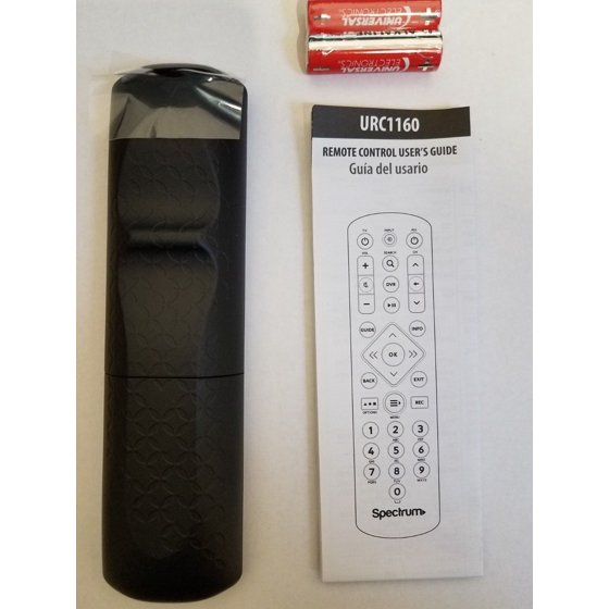 Spectrum Cable Box Remote Control URC1160 New Instructions includes Fast  shipping