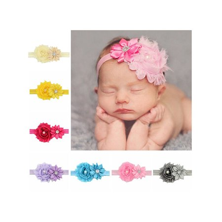 Unique Headband for Baby Girl, Coxeer Cute 12 Pieces Hair Bows Clips  JD41