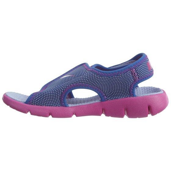 06530b86683a Nike - Nike Kids  Sunray Adjust 4 Sandal Hydrangeas Fire Pink Comet Blue 12  - Walmart.com