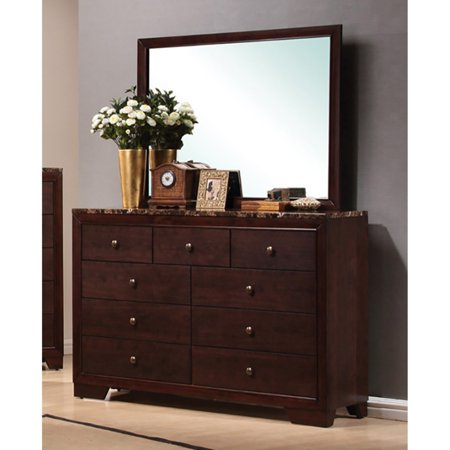 Coaster Company Conner Collection Dresser , Cappuccino ()