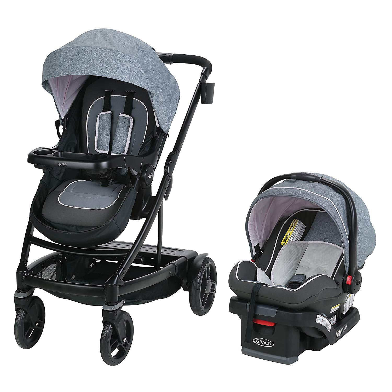 Graco Uno Duo Baby Single Double Stroller & Infant Car ...