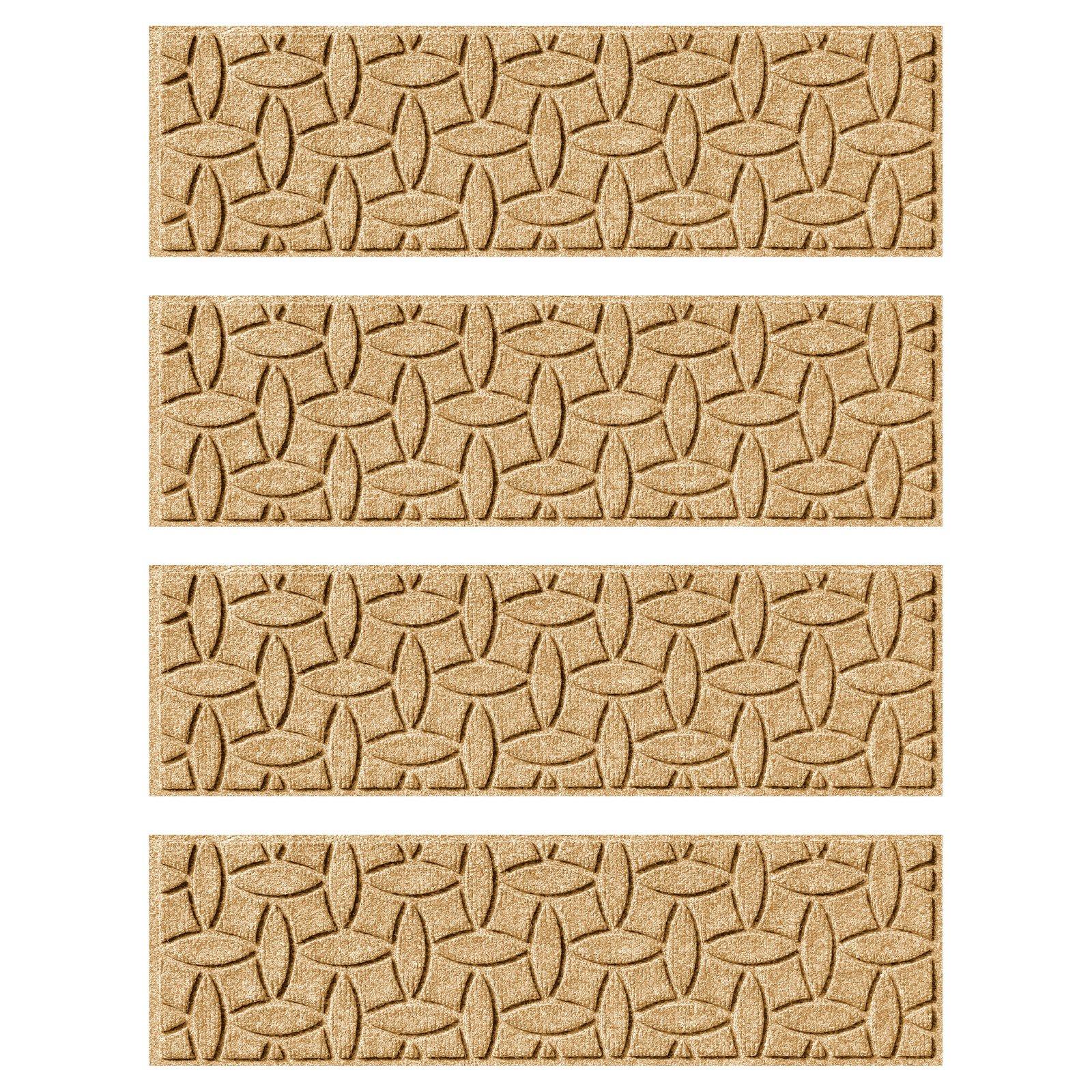 Bungalow Flooring Ellipse Indoor/Outdoor Stair Treads - Set of 4