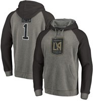 b04c3c069 Product Image LAFC Fanatics Branded Greatest Dad Raglan Pullover Hoodie -  Heathered Gray