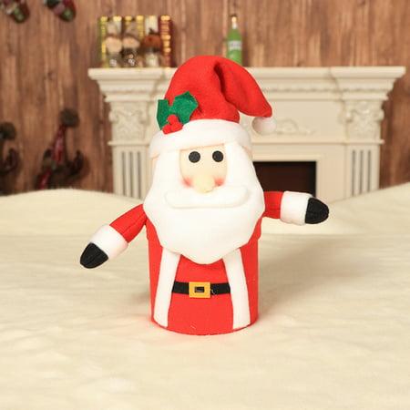 Child Kids Christmas Candy Jar Storage Bottle Santa Bag Sweet Christmas Box Gift (Jars For Sweet Table)