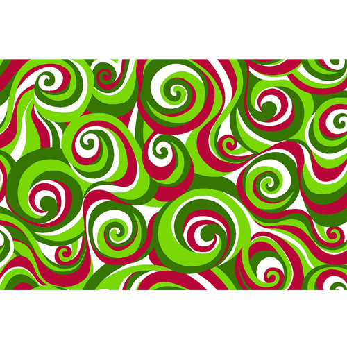 """Springs Creative Christmas Festive Swirl, Red, 43/44"""" Wide, Fabric By the Yard"""