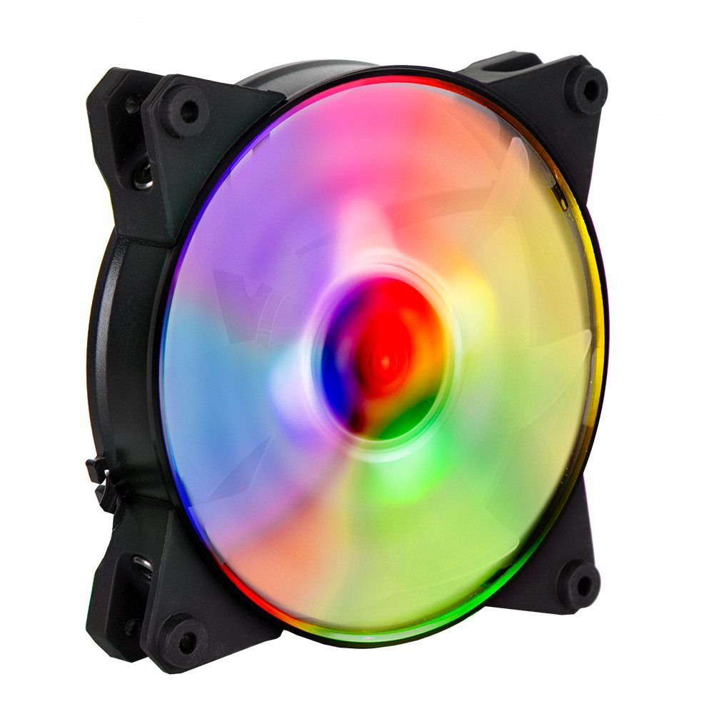 Cooler Master MasterFan Pro 120 Air Flow RGB- 120mm High Air Flow RGB Case Fan, Computer Cases CPU Coolers and Radiators (