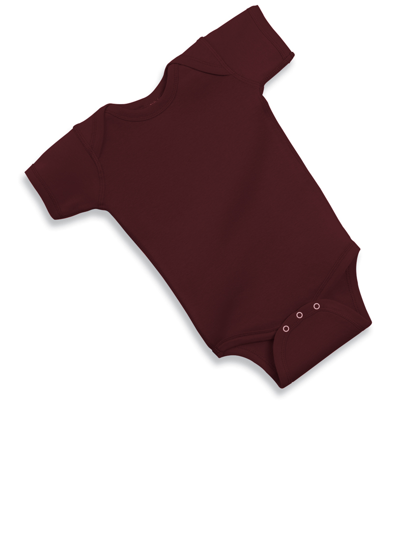 (Price/each)Rabbit Skins 4400 Infant Lap Shoulder Bodysuit-Black-18M