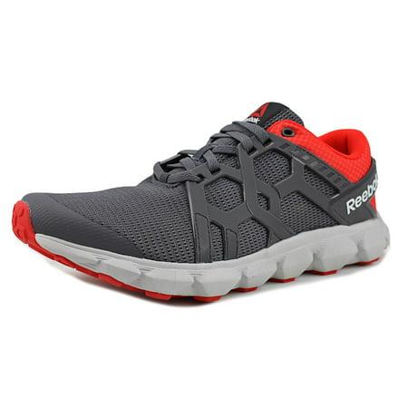 pierwsza stawka oszczędzać spotykać się Reebok Hexaffect Run 4.0 MTM Men Round Toe Synthetic Gray Running Shoe