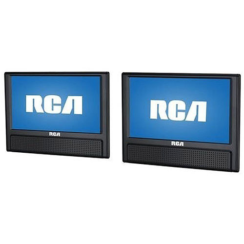 RCA DRC79982 9-Inch Mobile DVD Player with Additional 9-inch Screen (Certified Refurbished)