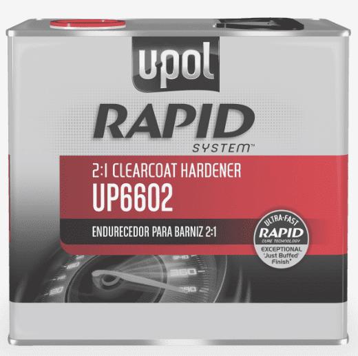 U-POL 6602 Rapid System Clearcoat Hardener, 2.5L Tin (Upol 6602)