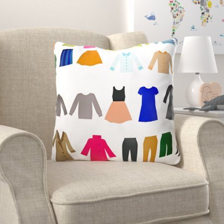 Zoomie Kids Carty Womens Clothing Indoor Outdoor Canvas Throw Pillow ... 69b8a9a8f7