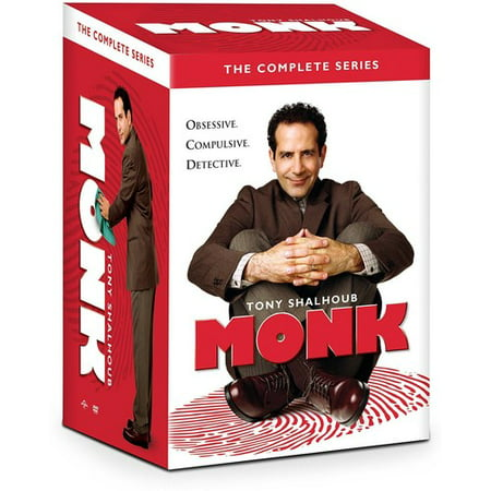 Monk: The Complete Series (DVD) (Complete Tv Series)