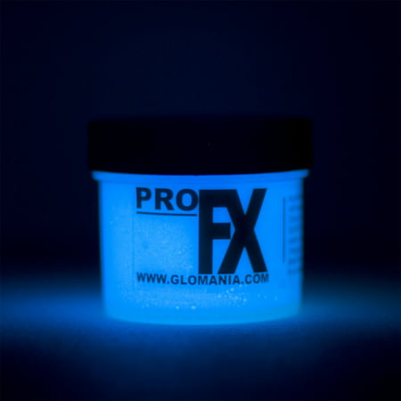 ProFX GID BLUE Glow in the Dark Acrylic Paint-1oz - Glow In The Dark Body Paint