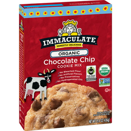 Immaculate Baking Organic Chocolate Chip Cookie Mix, 15.4 oz