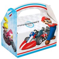 Super Mario Brothers Mario Kart Wii Party Supplies 12 Pack Favor Box