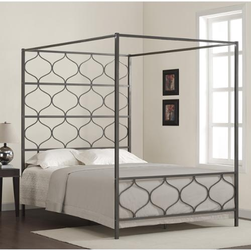 I Love Living Marnie Queen Canopy Bed & I Love Living Marnie Queen Canopy Bed - Walmart.com